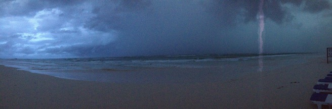 Lightning in Tulum