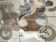 "Detail of ""History of Transportation"" (Image: Marya Villarin)"