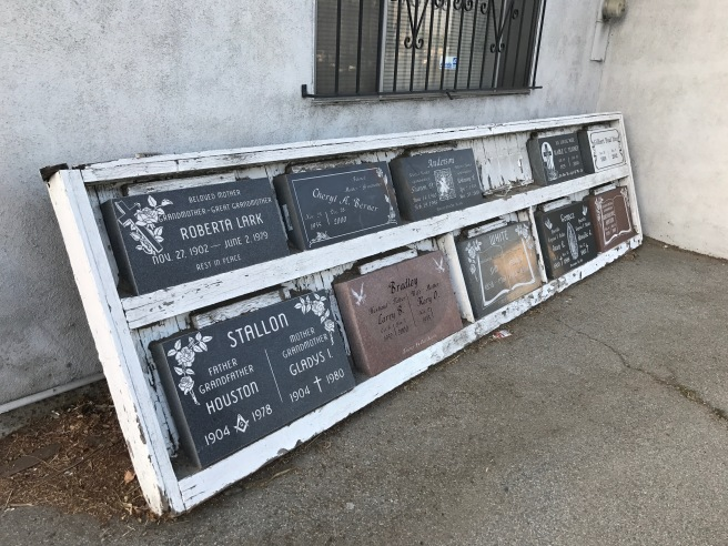 Plaques in Inglewood
