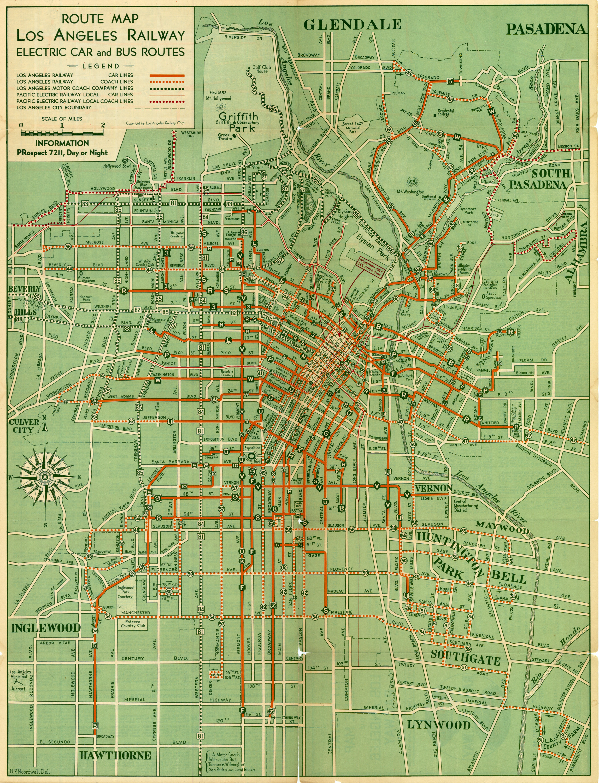 Nobody Drives in LA A Guide to Los Angeles Public Transit Agencies