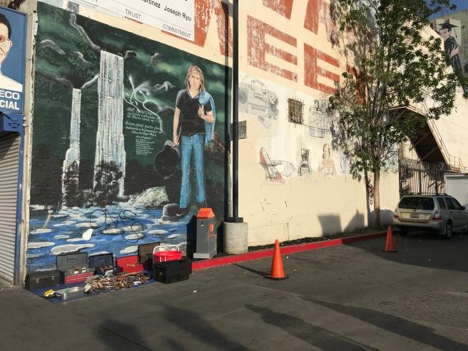 Swap meet mural