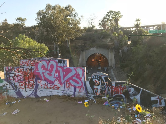 Above Figueroa Tunnels