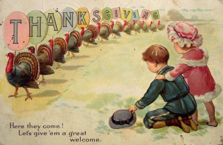 Vintage Thanksgiving Postcards (1)