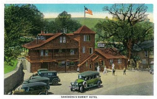 Sandburg postcard