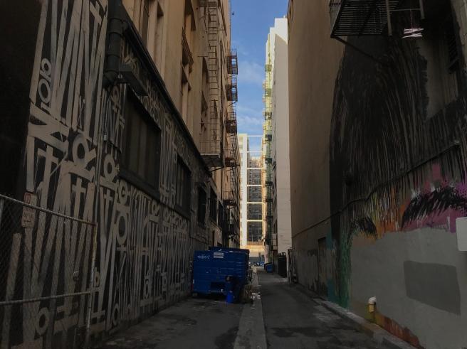 DTLA alley