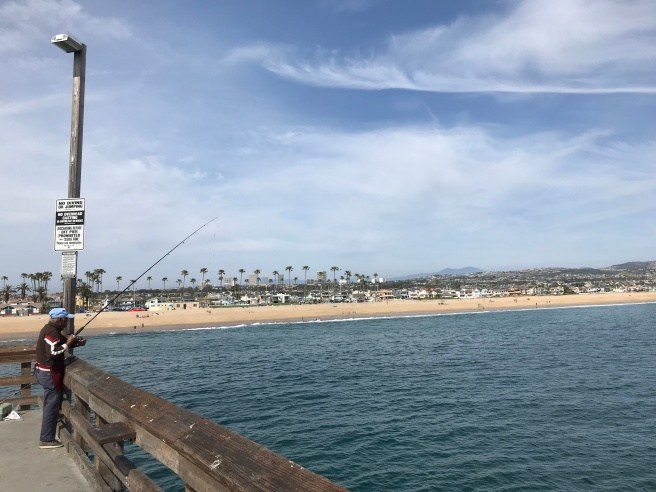 Newport Beach from the pier