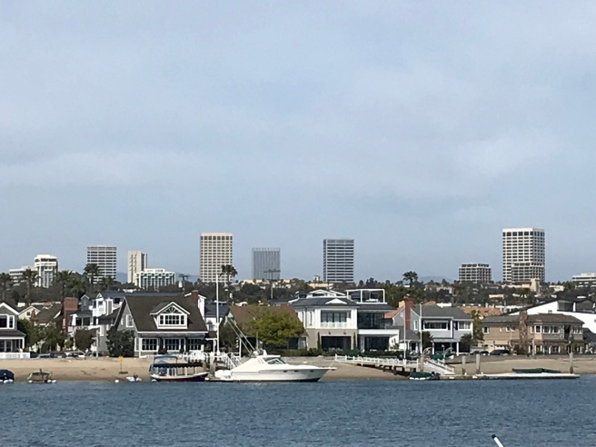 Newport Beach skyline