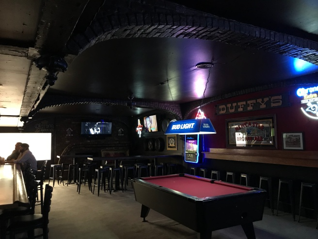 Duffy's interior