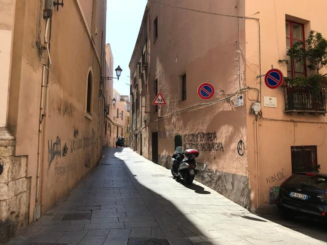 alley in Cagliari
