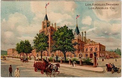 Los Angeles Brewery postcard