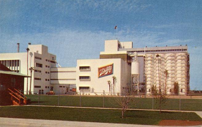 Schlitz postcard