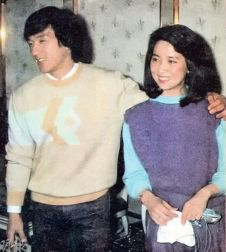Jackie Chan and Teresa Teng