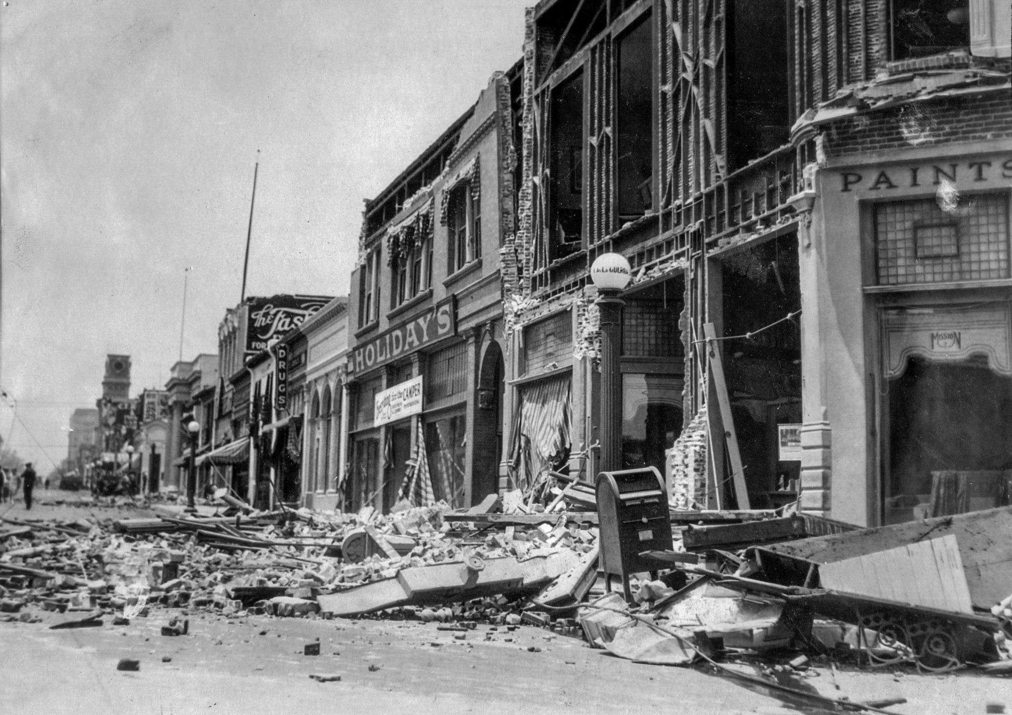 1925 Earthquake Damage