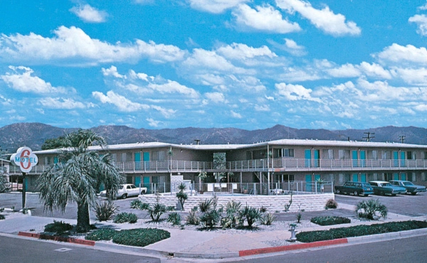 Motel 6 Postcard